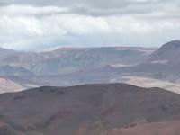 View towards Kinross´s Maricunga goldmine from Santa Cecilia